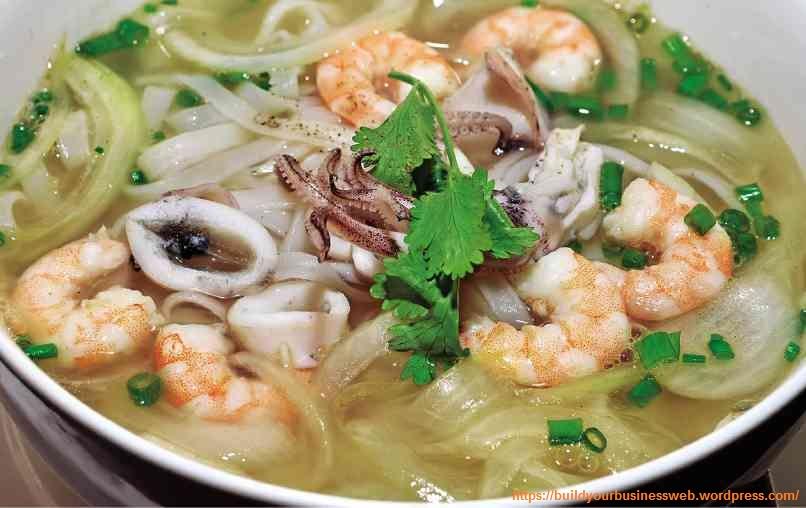 Vietnamese Seafood Pho recipe (Pho Hai San) – Build Your Business